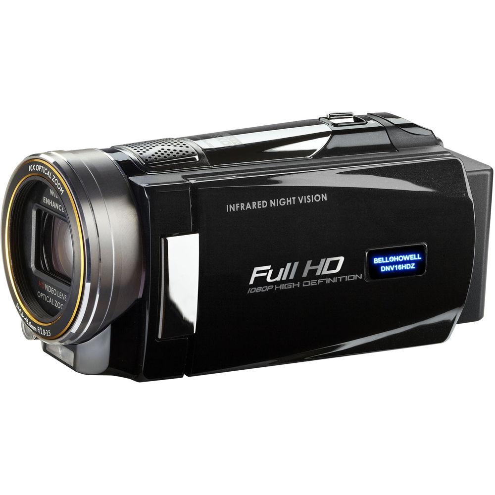 Bell & Howell DNV16HDZ Full HD Rogue Night Vision Camcorder (Black)