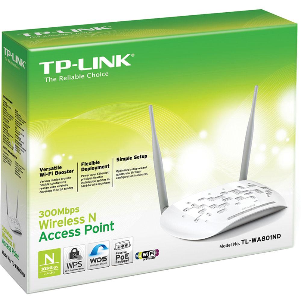 TP-Link TL-WA801ND Wireless-N300 Access Point