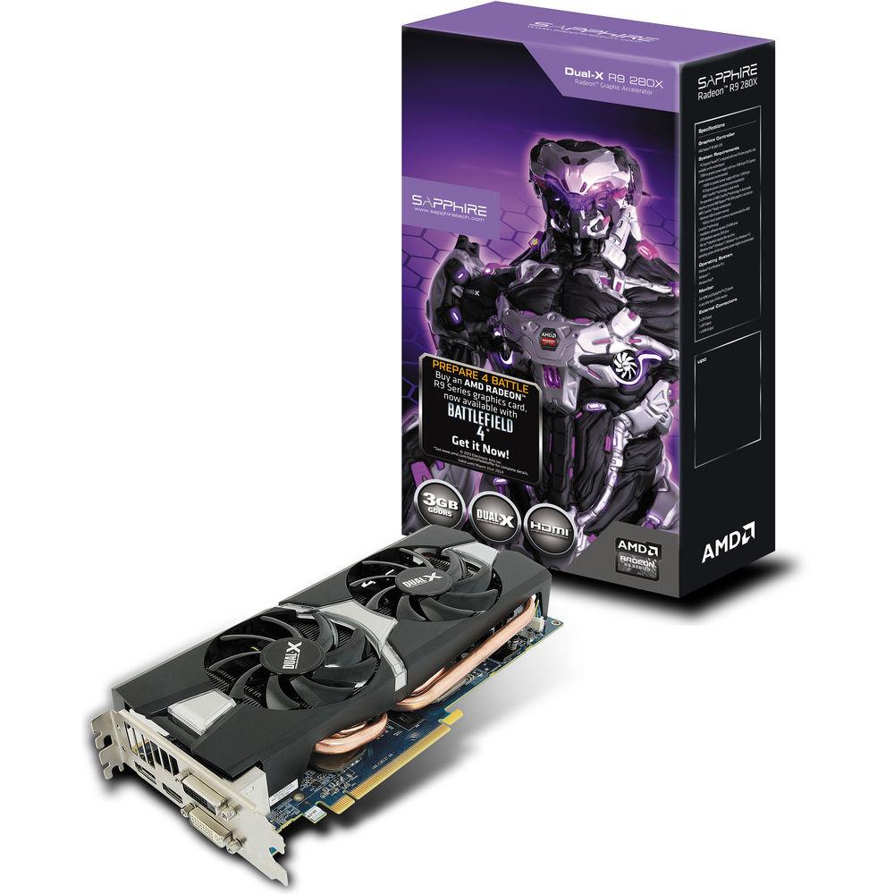Sapphire Radeon R9 280X Dual-X Edition Graphics Card