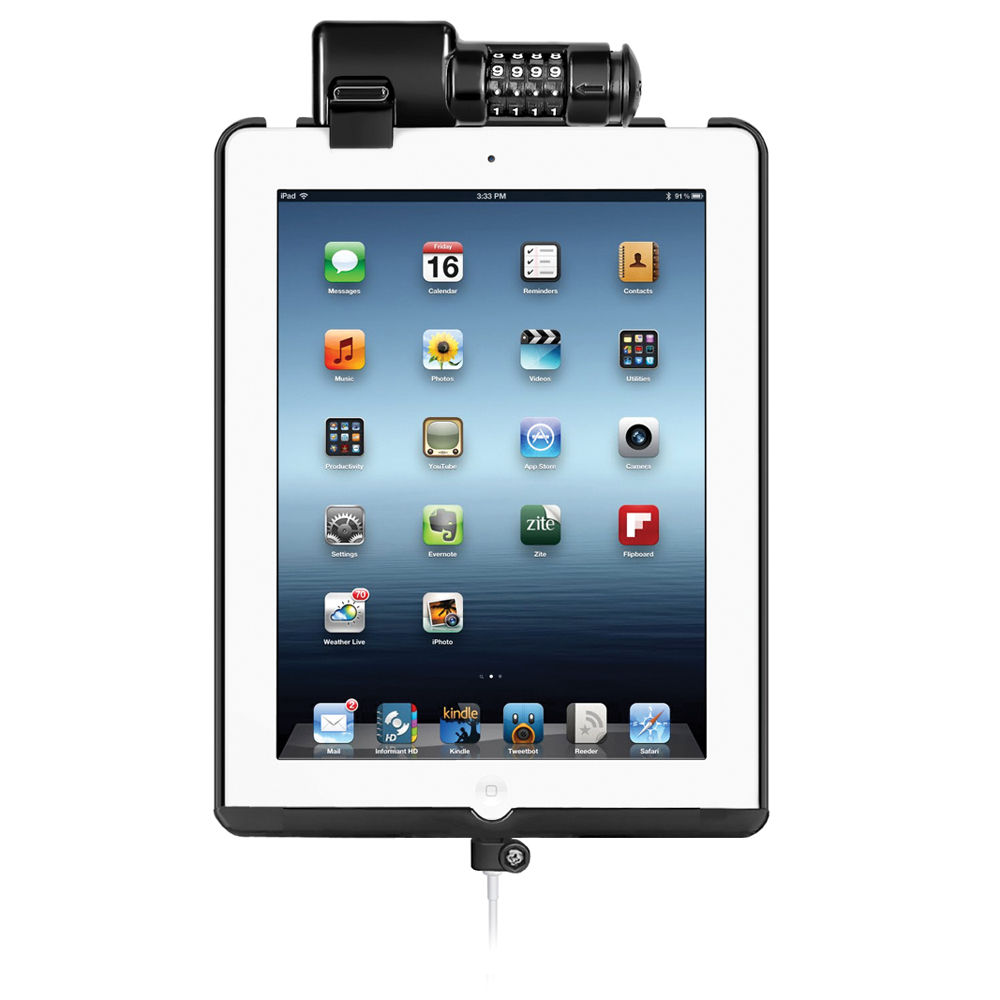 RAM MOUNTS DOCK-N-LOCK Sync/Lock Cradle for the iPad (4th Gen)