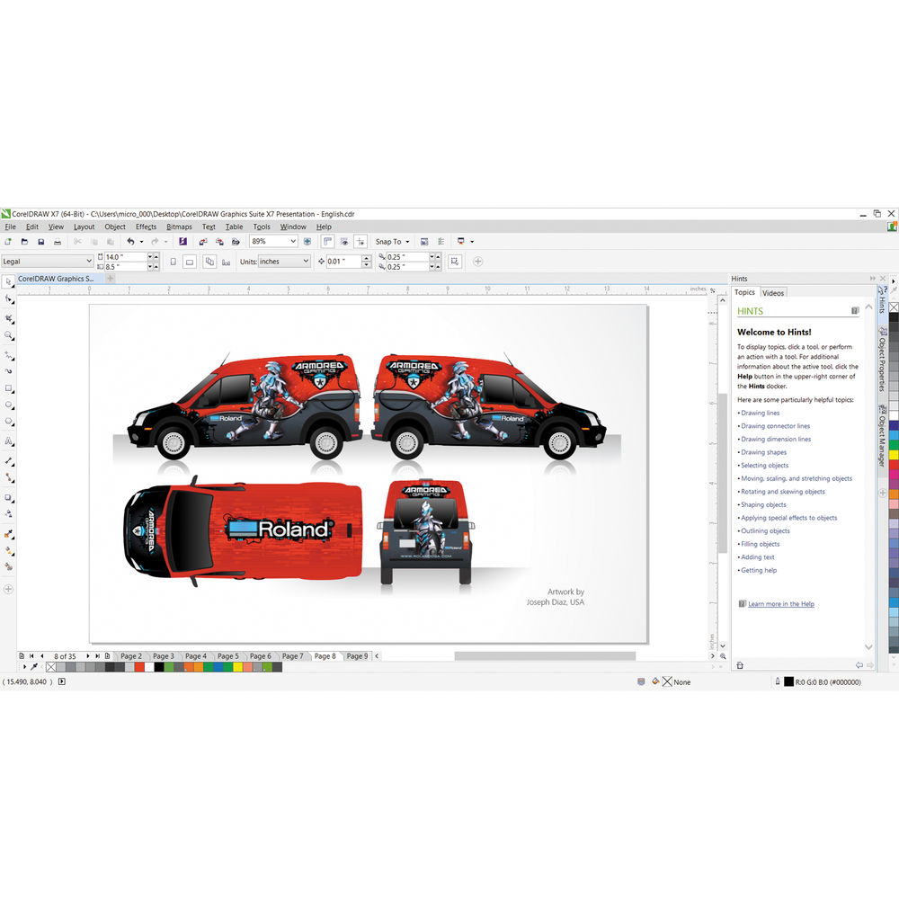 Descargar PDF CorelDraw Graphics Suite X7 For Windows