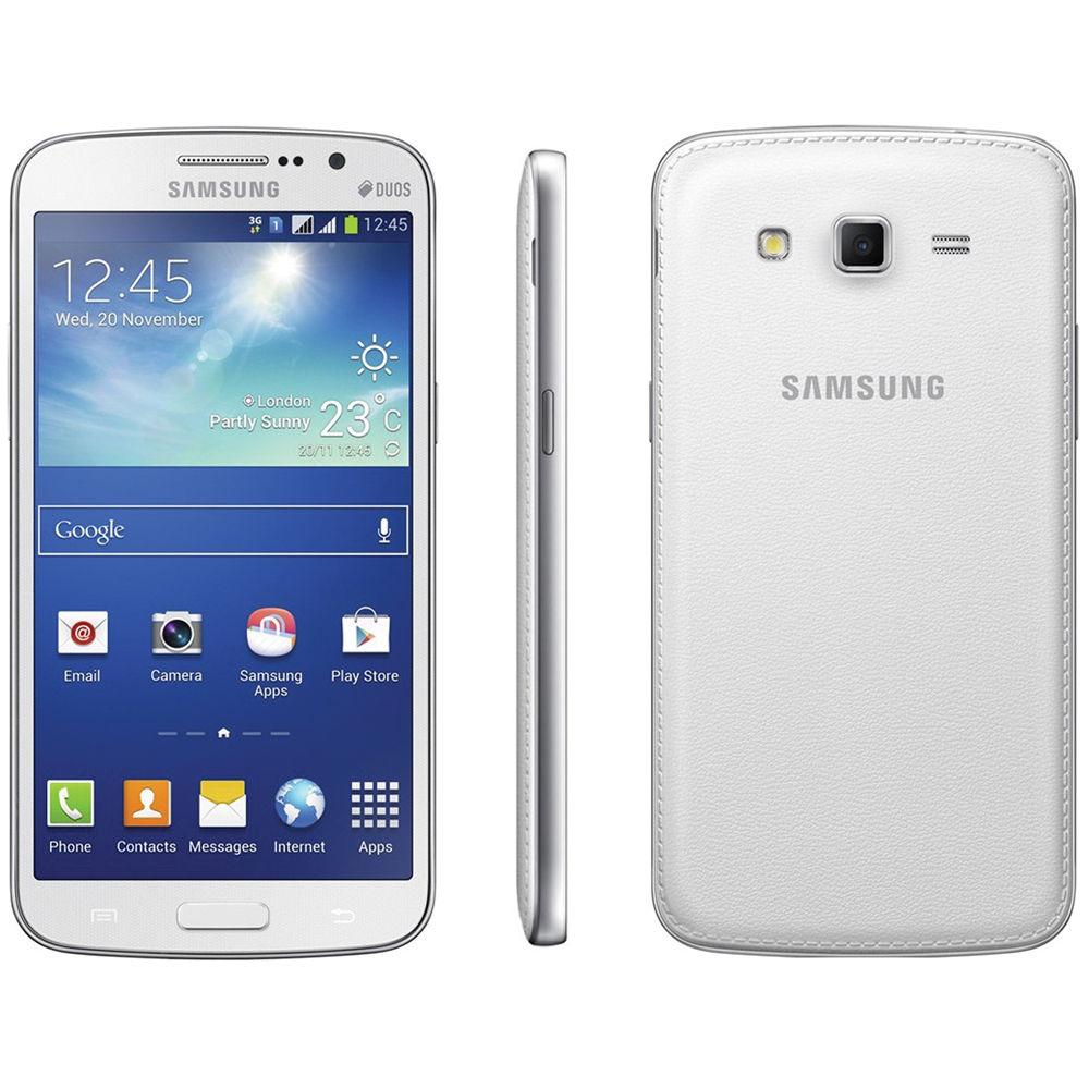Samsung Galaxy Grand 2 SM-G7102 8GB Smartphone (Unlocked, White)