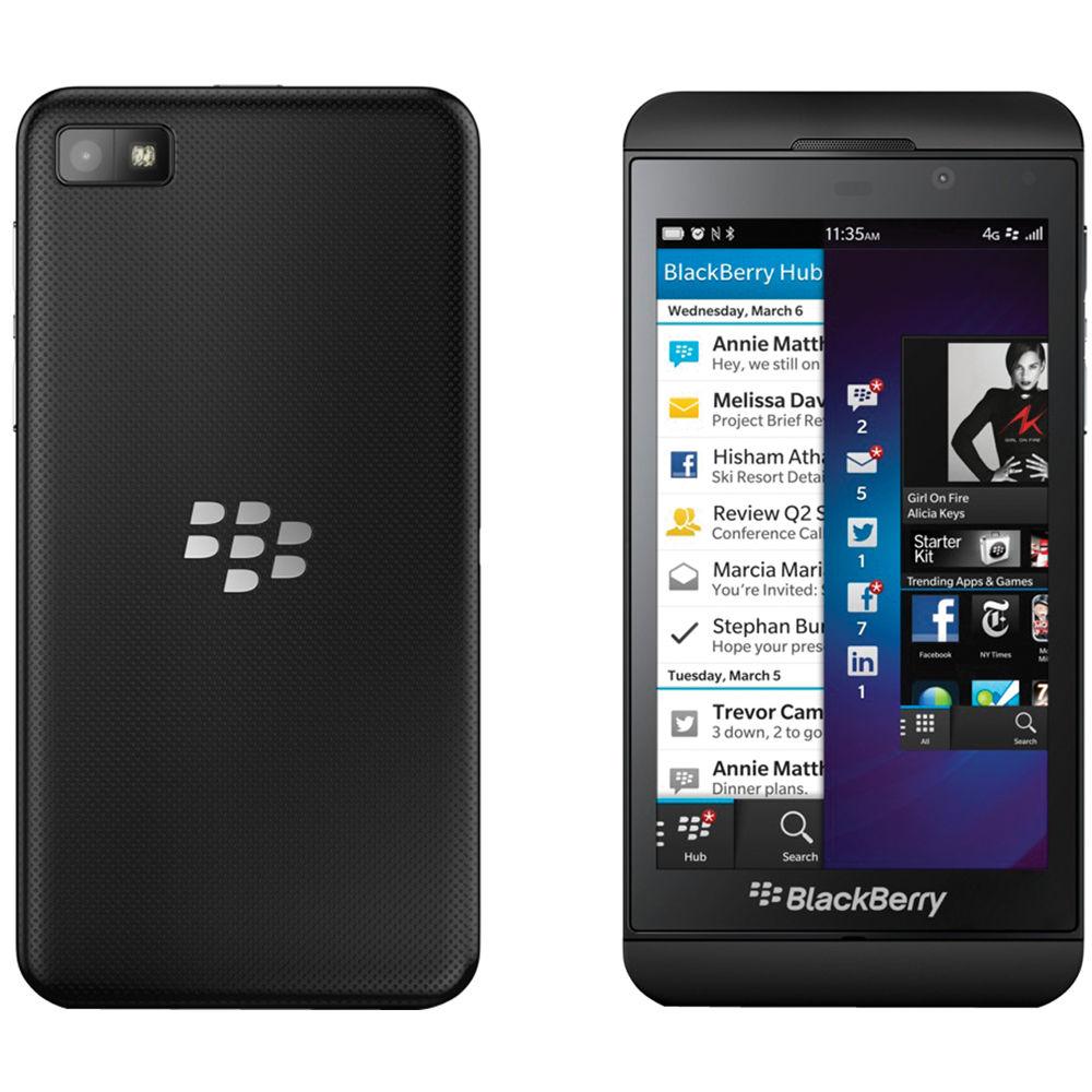 BlackBerry Z10 STL100-3 16GB AT&T Branded Smartphone (Unlocked, Black)