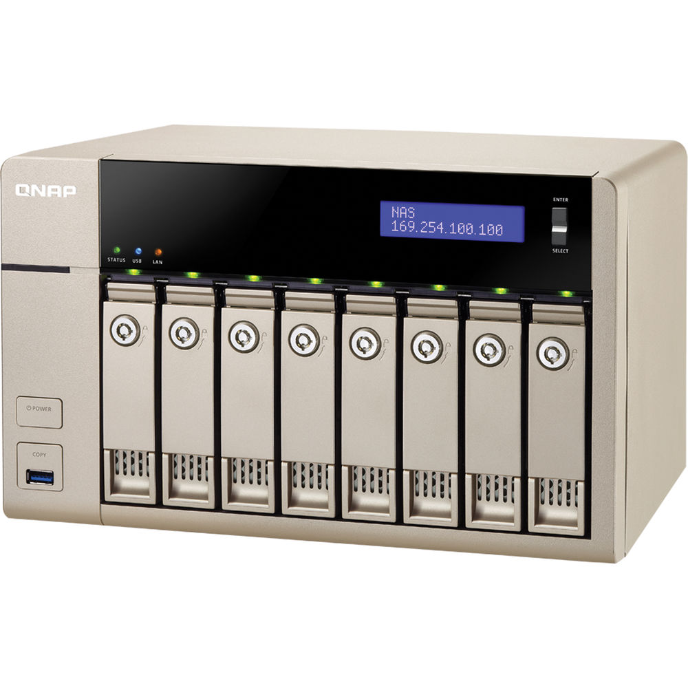 QNAP TVS-863+-8G 8-Bay NAS Enclosure