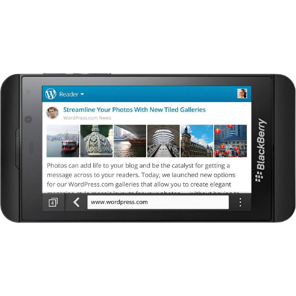 BlackBerry Z10 STL100-1 16GB Smartphone (Unlocked, Black)