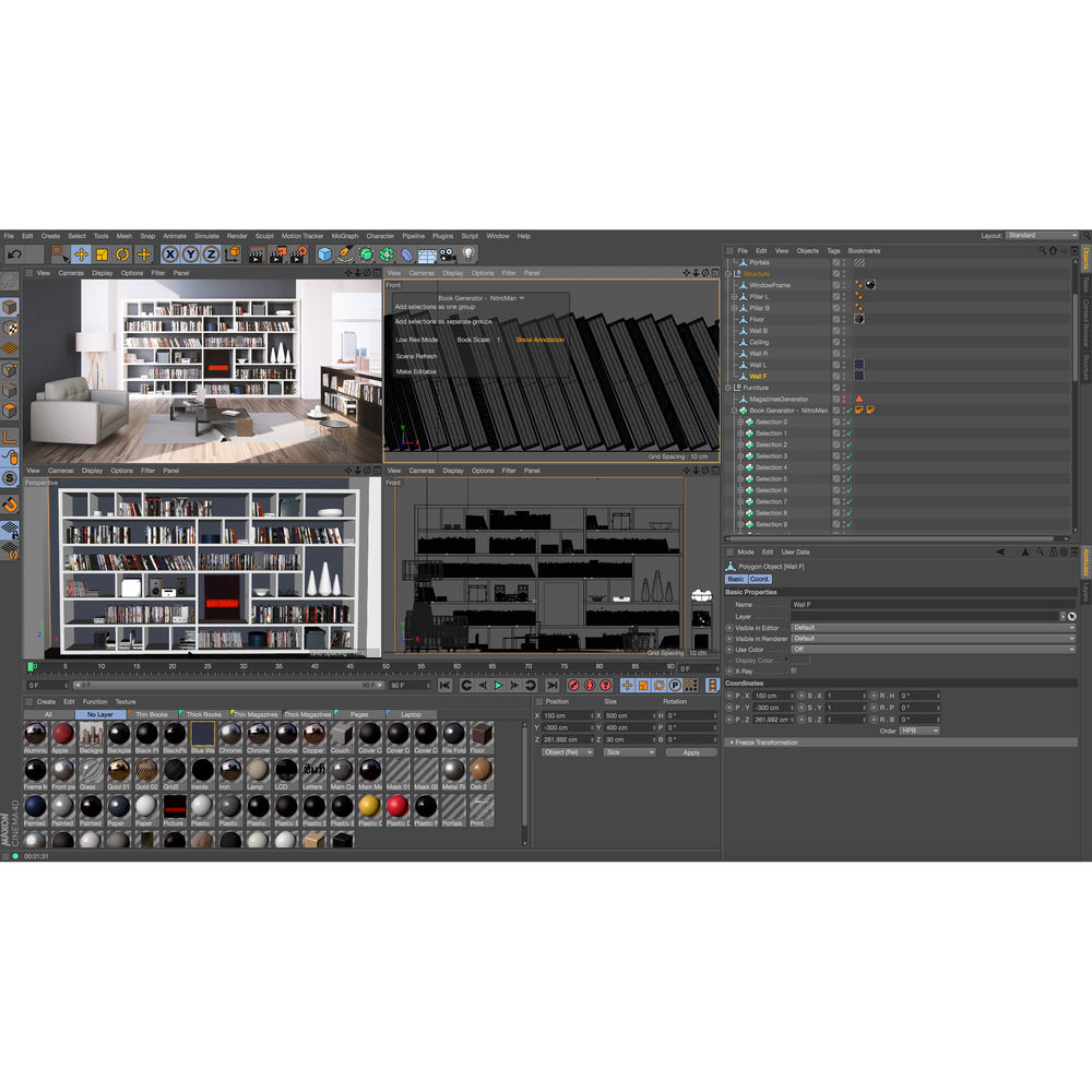 Maxon CINEMA 4D Visualize R17 - Upgrade from Prime R17 (Download)