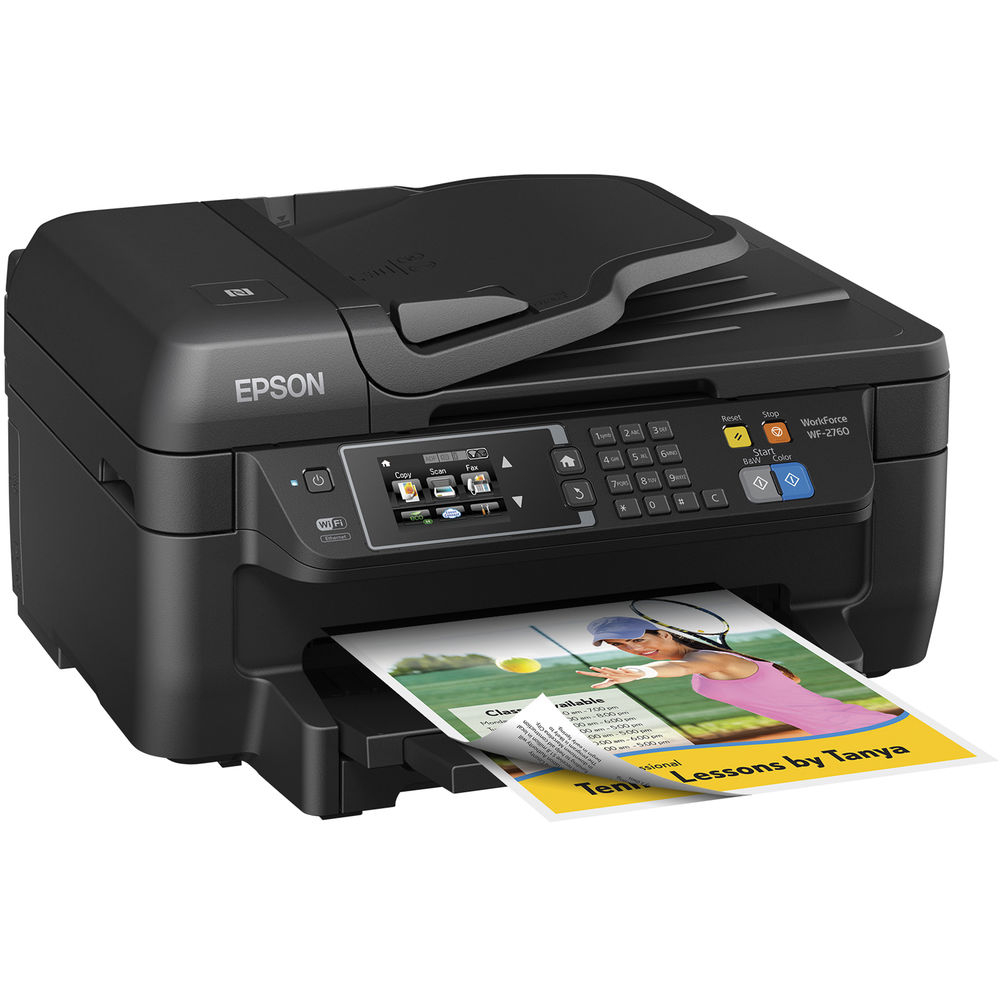 Epson WorkForce WF-2760 All-in-One Inkjet Printer