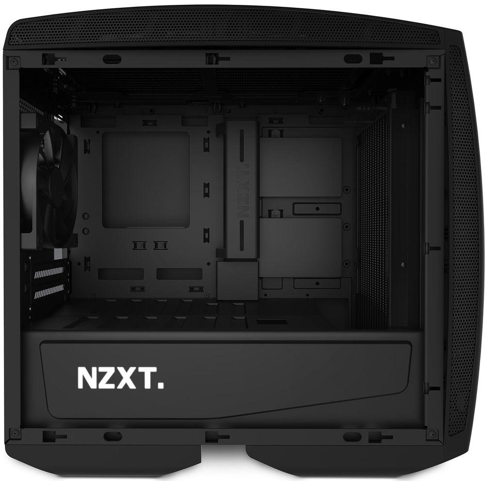 NZXT Manta Mini-ITX Case (Window, Matte Black) CA-MANTW-M1 B&H