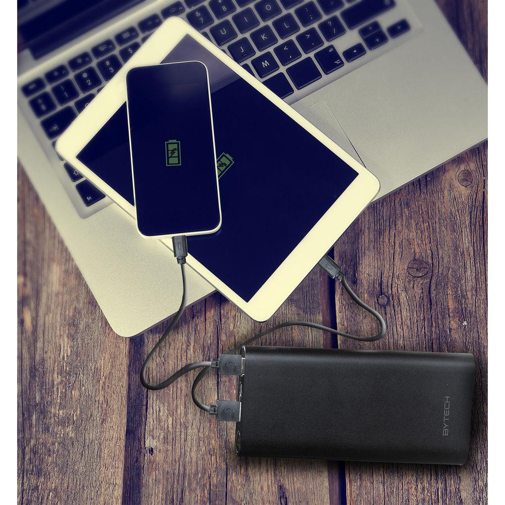 BYTECH Universal 14,000mAh Portable Power Pack (Black)