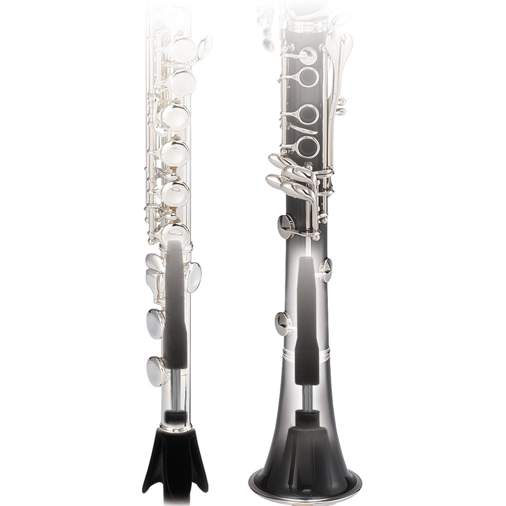 Hercules DS640BB Flute//Clarinet Stand