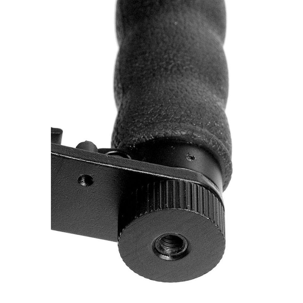 Black Alzo Camera Mounting Plate for Alzo Flip Flash Bracket