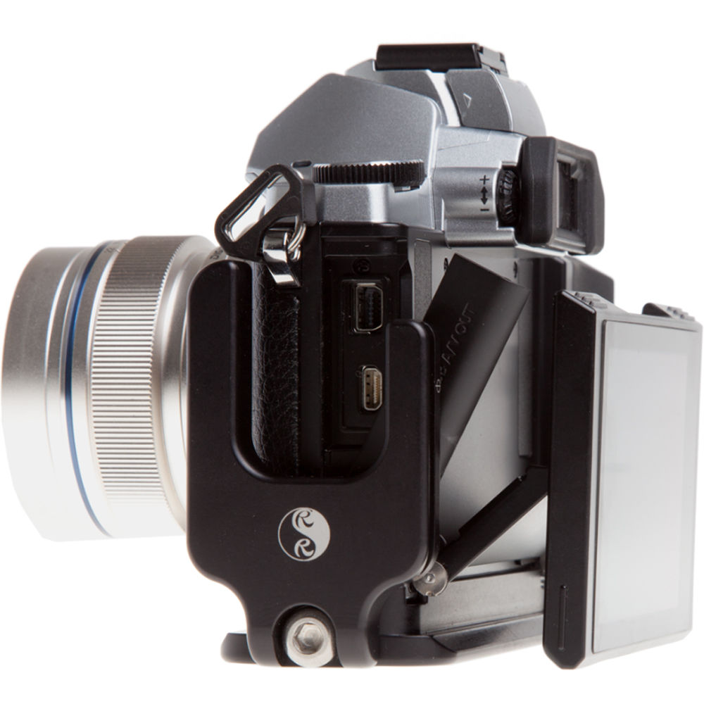 Really Right Stuff BOEM5 Set L-Plate and Grip for Olympus OM-D E-M5