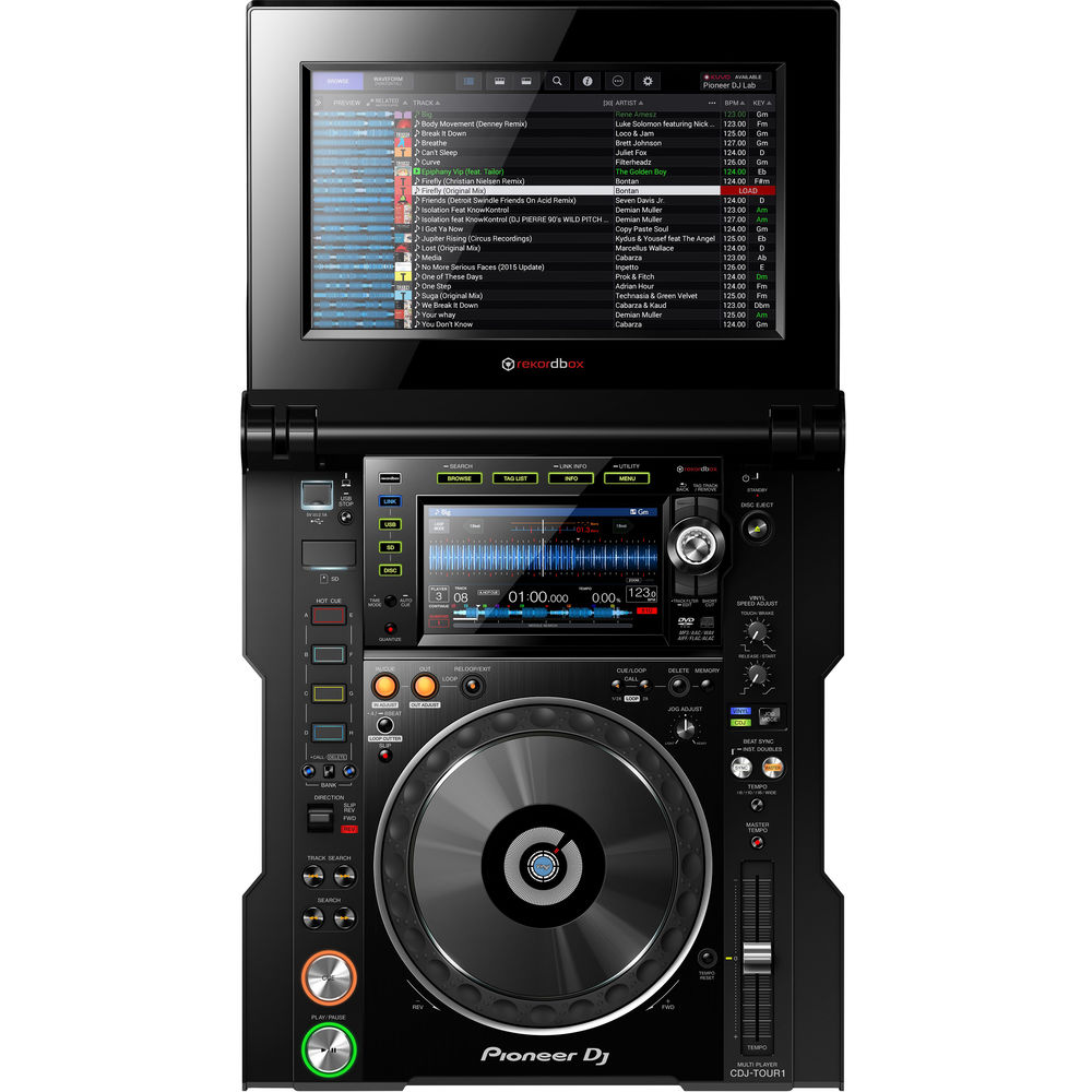Pioneer DJ CDJ-TOUR1 - Tour System Multi-Player with Fold-Out Touch Screen