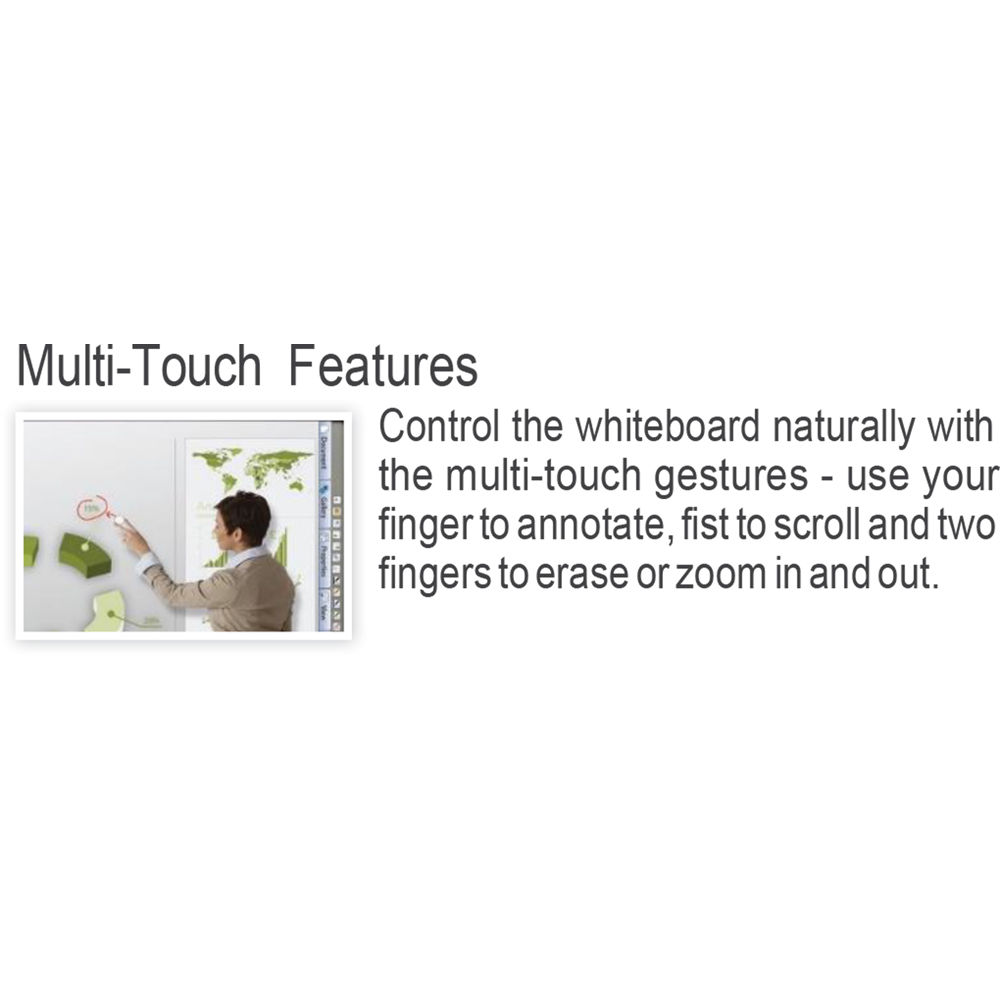 StarBoard Solution 10-Point Touch Interactive Whiteboard (104