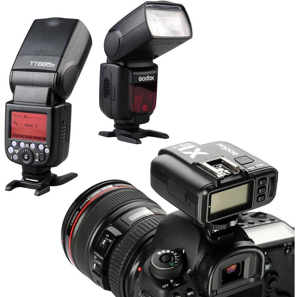 GODOX X1T-C TTL Wireless Transmitter Compatible for Canon EOS Series Cameras