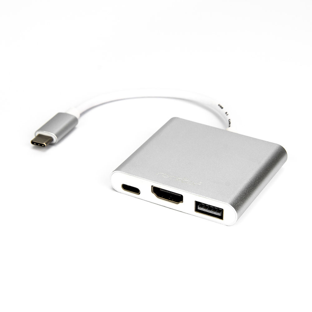 """Chromebook 1 X USB Type A Female and Other USB-C Devices USB 2.0 MacBook 1 X USB Type C Male USB Type C to A Converter Rocstor Premium 6/"""" USB-C to Usb-A Adapter M//F 1 Pack for Use of USB C Devices Such As Macbook Pro black Adap"""