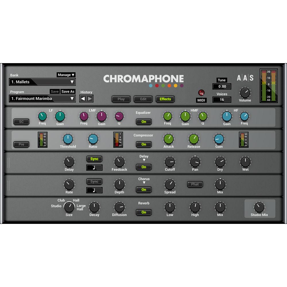 Applied Acoustics Systems Chromaphone 2 + Packs - AA-CPAK B&H