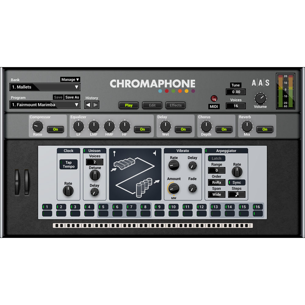 Applied Acoustics Systems Chromaphone 2 + Packs - AA-CPAK B&H