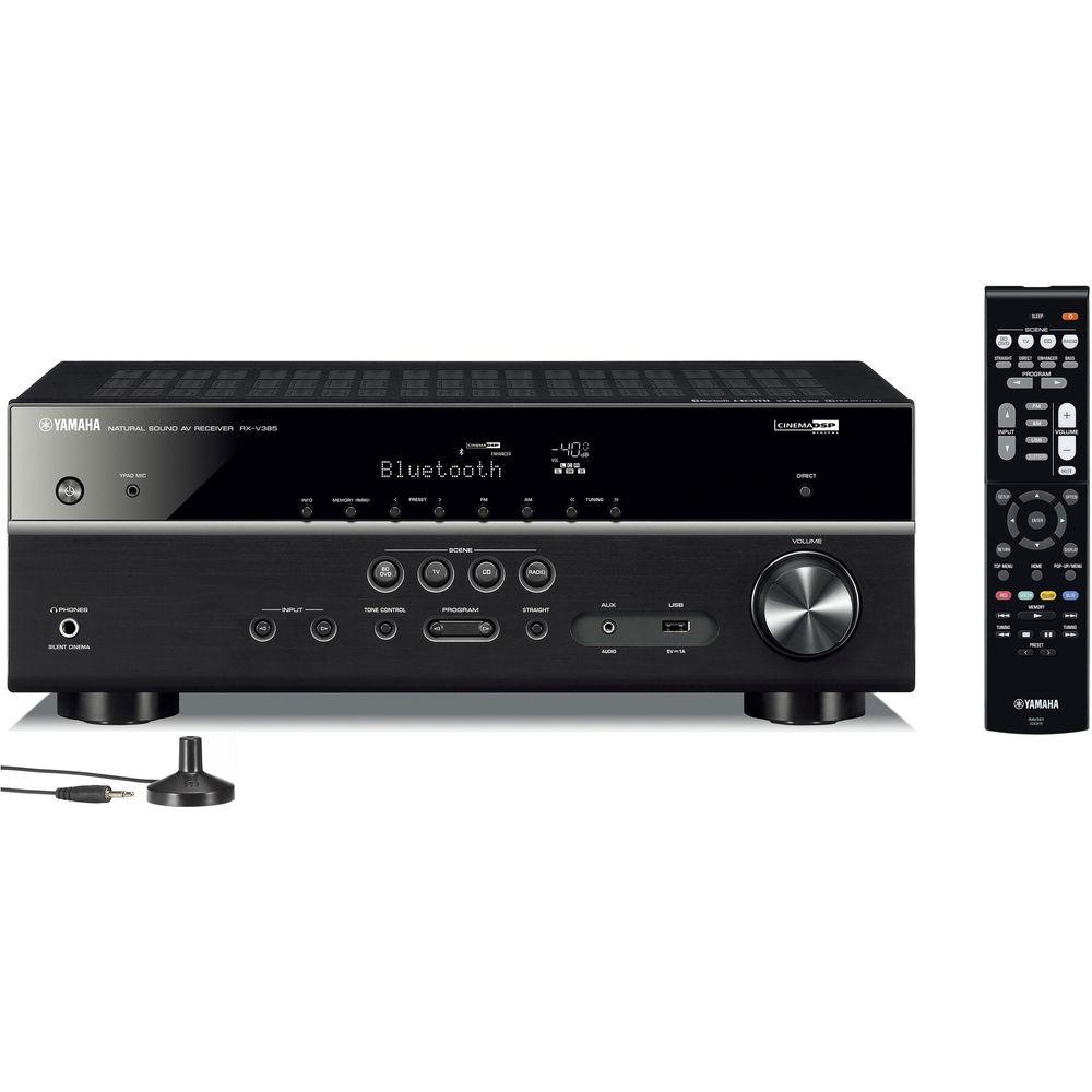 Yamaha RX-V385 5 1-Channel A/V Receiver