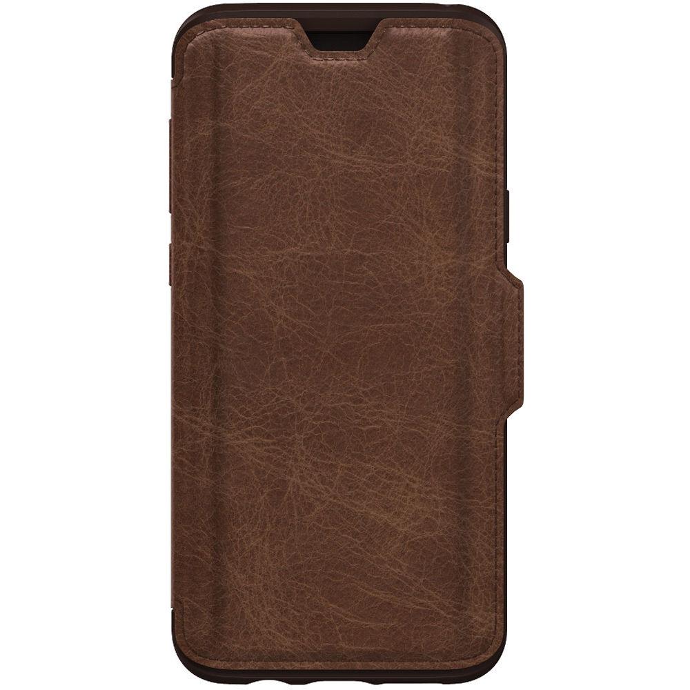new styles a1aa7 ceb28 OtterBox Strada Folio Series Case for Samsung Galaxy S9+ (Espresso)