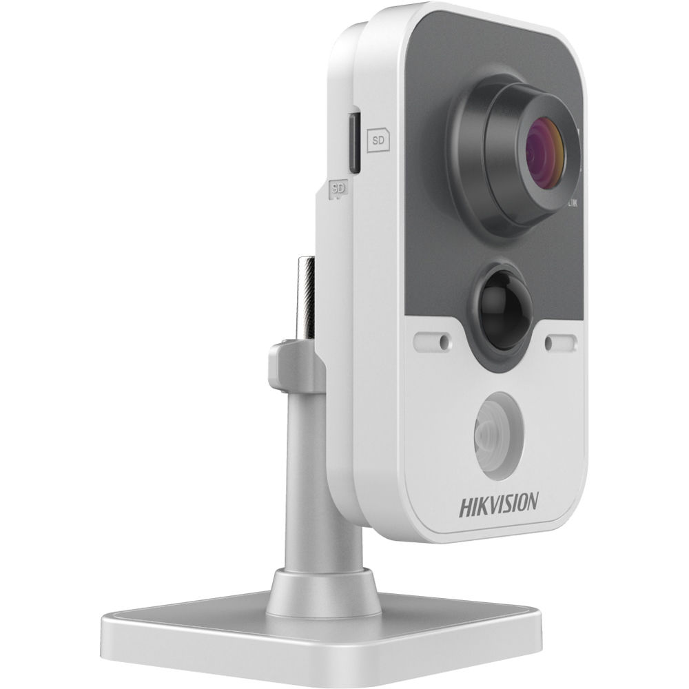 Hikvision DS-2CD2422FWD-IW 2MP Wi-Fi Network Cube Camera with Night Vision  & 2 8mm Lens