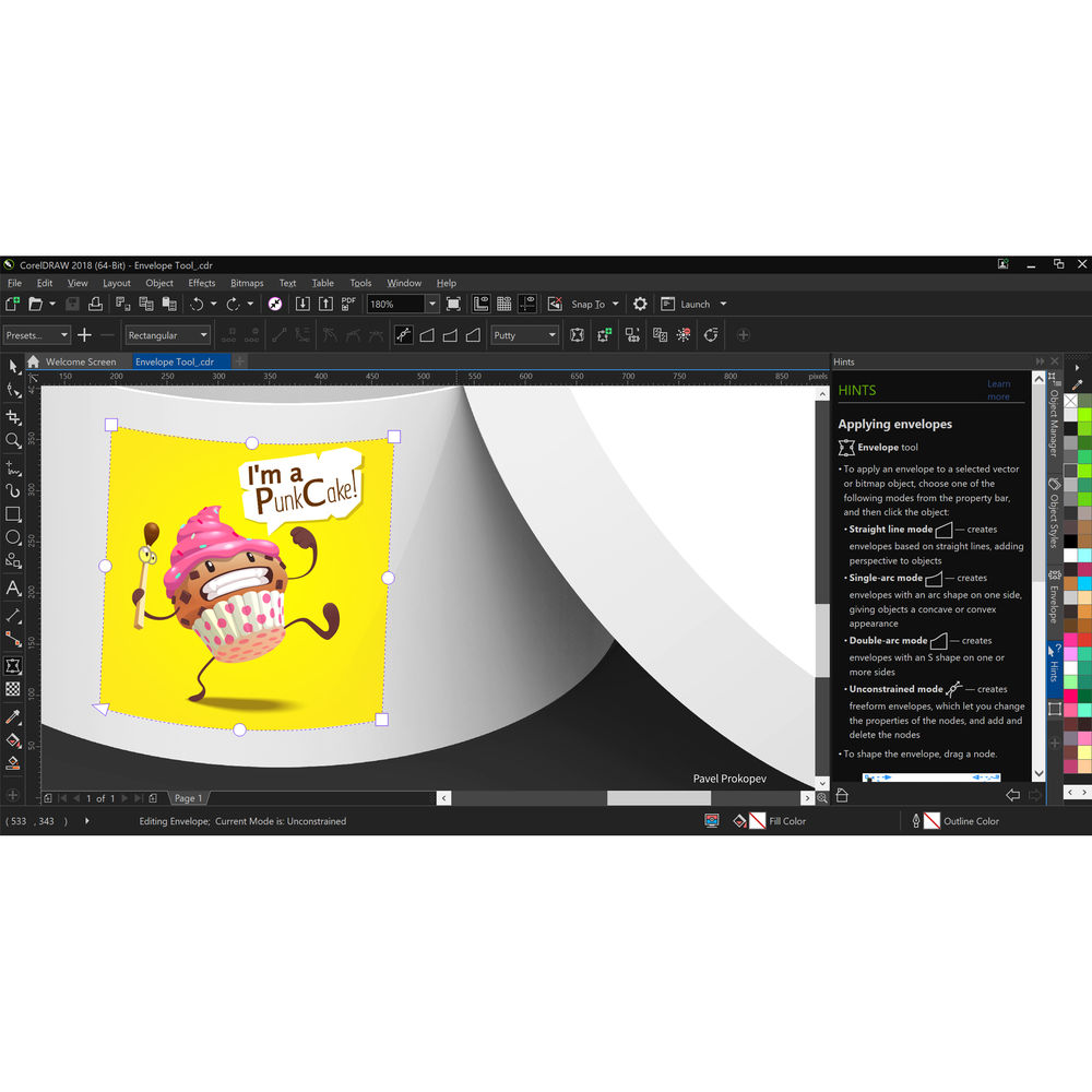 CorelDRAW Graphics Suite 2018 (Boxed)
