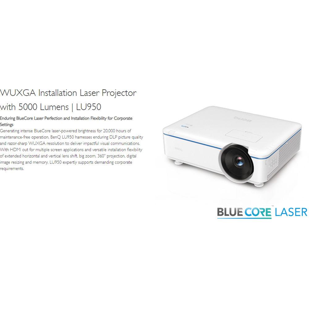 BenQ LU950 5000-Lumen WUXGA Laser DLP Projector