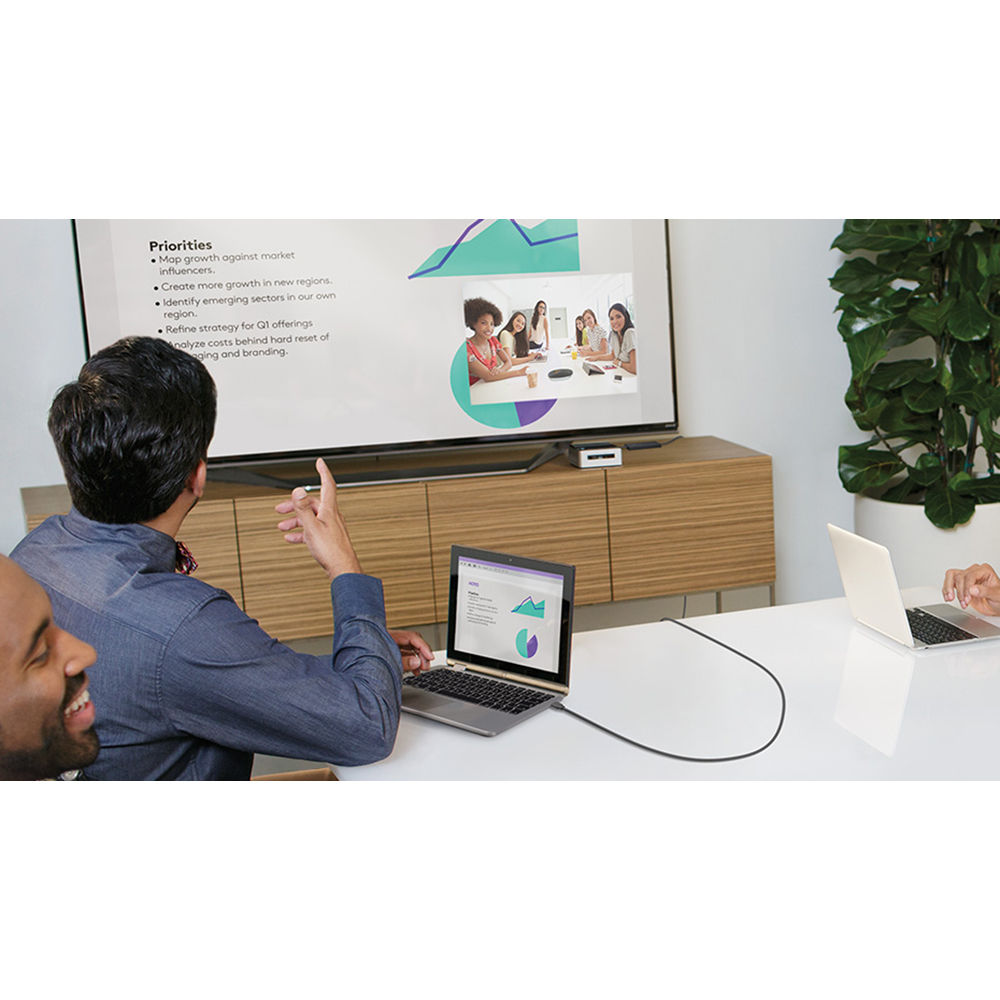 Logitech USB Type-A to HDMI Screen Share Graphic Adapter