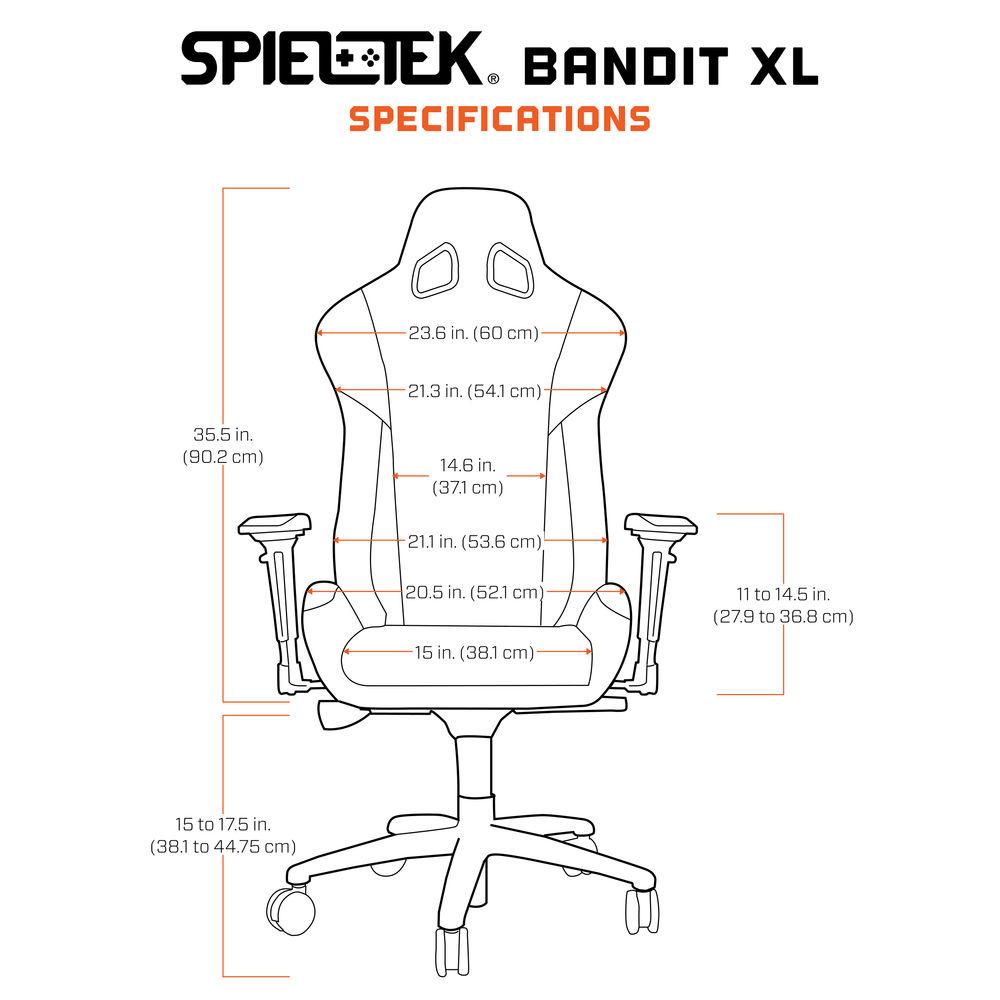 Pleasant Spieltek Bandit Xl Gaming Chair V2 Black Maroon Frankydiablos Diy Chair Ideas Frankydiabloscom