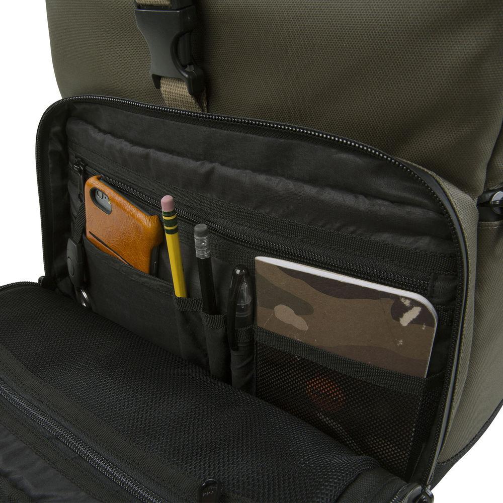 Olive Coated Medium DSLR Backpack HX2286-OLCO