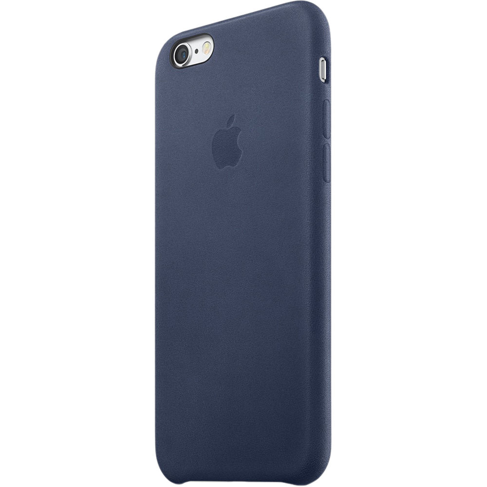 sneakers for cheap 9d854 4db92 Apple iPhone 6/6s Leather Case (Midnight Blue)