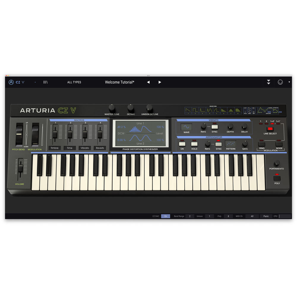 Arturia V Collection 7 - Software Synth Bundle for Pro Audio Applications  (Download)