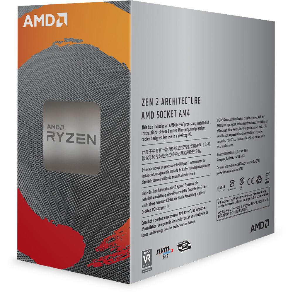 AMD Ryzen 5 3600 3 6 GHz Six-Core AM4 Processor