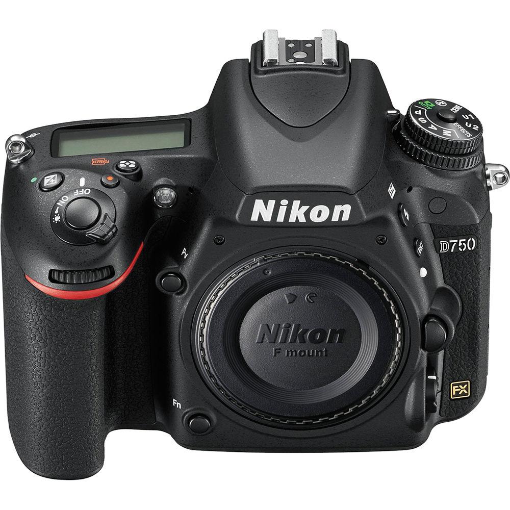 Nikon D750 Dslr Camera 1543 Nikon D750 Body B H Photo Video