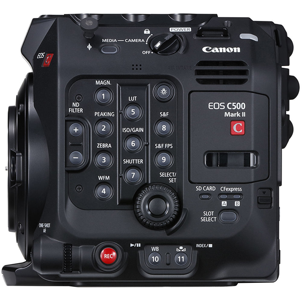 Canon EOS C500 Mark II 5 9K Full-Frame Camera Body (EF Mount)