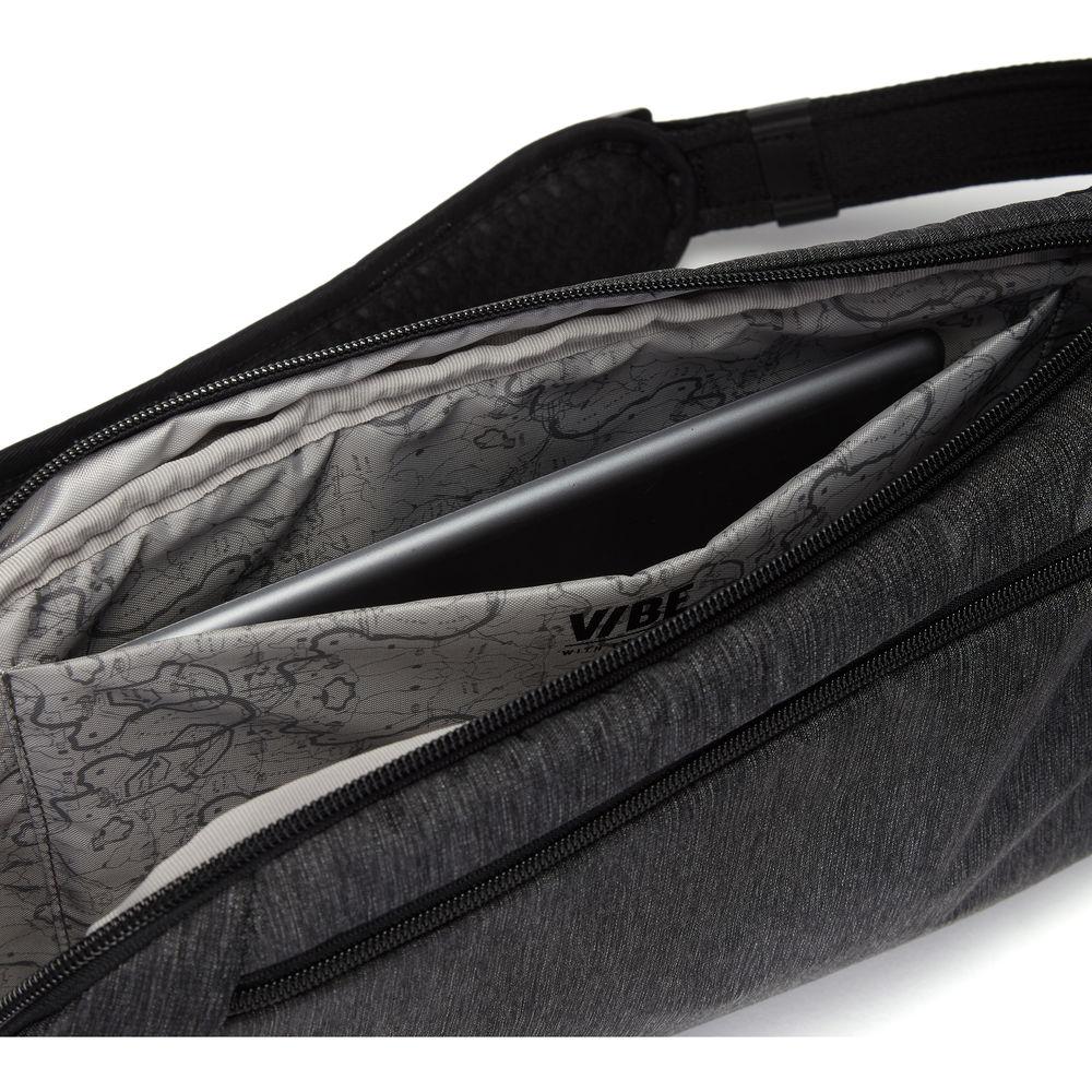 Pacsafe Vibe 325 Sling Pack Sac à bandoulière Granite chiné gris NOUVEAU