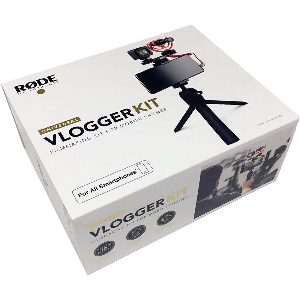 keepdrum Mikrofasertuch Rode VLOGVMicro Vlogger Kit Universal
