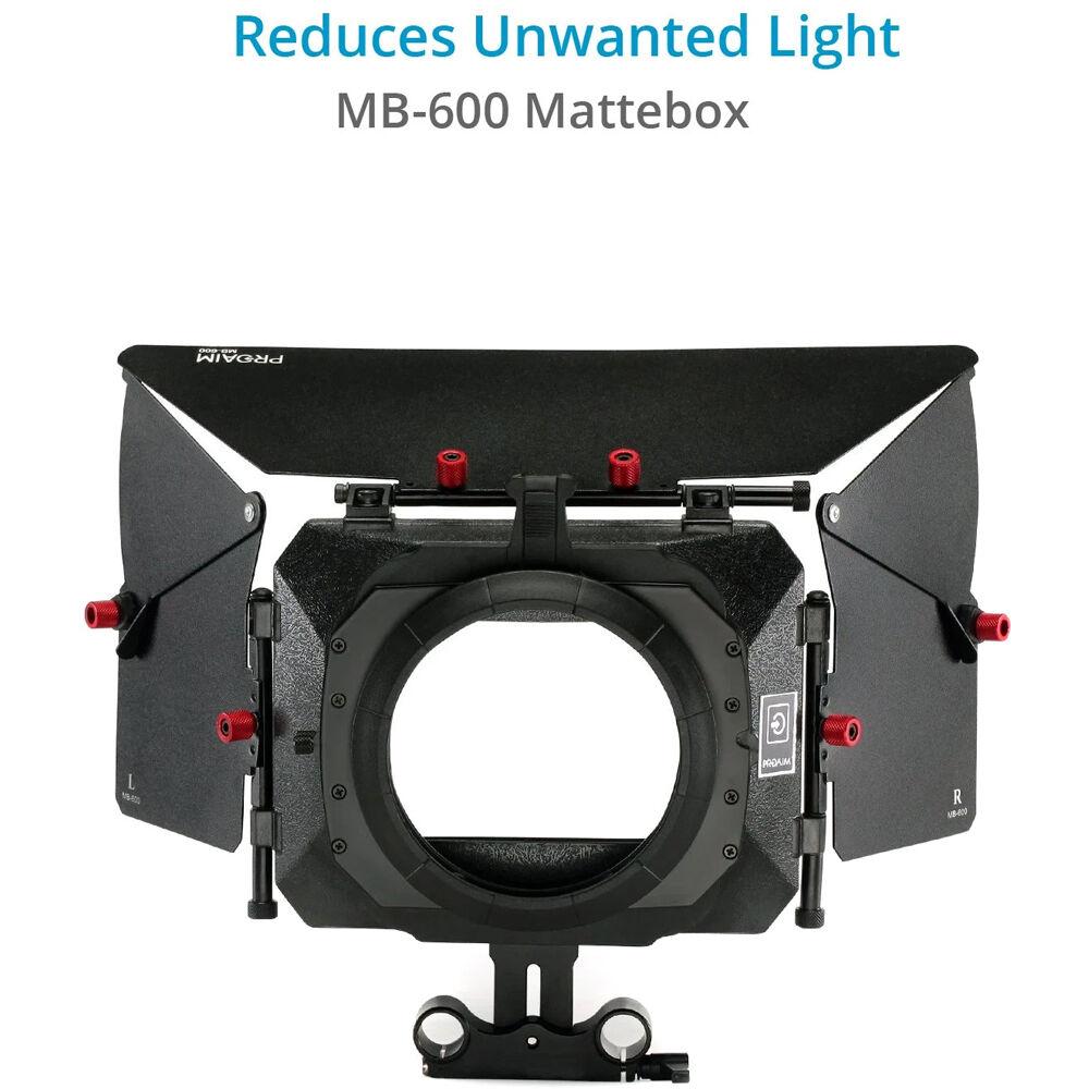 Free Offset Z Bracket FC-02 FILMCITY DSLR Camera Shoulder Support Rig Kit with Cage /& Matte Box DV HDV DSLR Video Camcorders Compatible