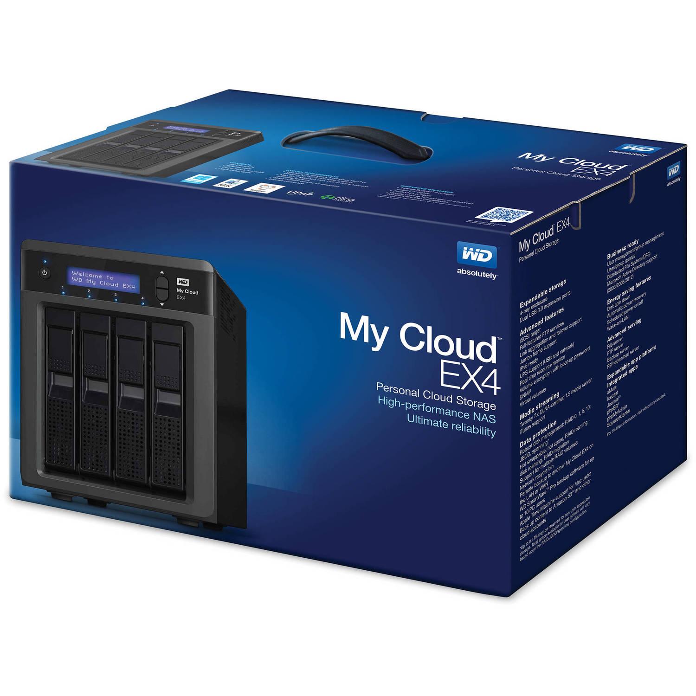 WD 12TB (4 x 3TB) My Cloud EX4 Personal Cloud Storage NAS Server