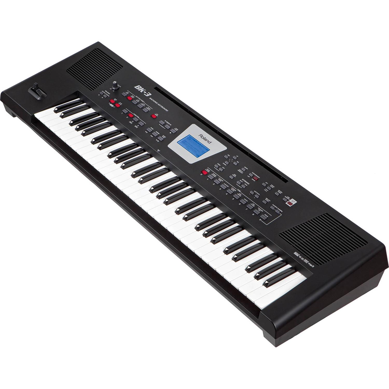 Roland BK-3 Backing Keyboard (Black)