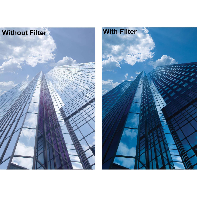 10 div tamaños de 37 39 43 46 49 52 55 58 62 67 72 77 W XS-pro ND MRC filtro 3.0 B