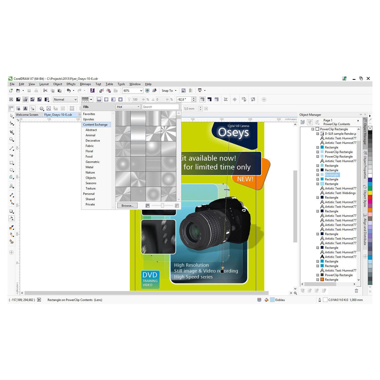 CorelDRAW Technical Suite X7 (Multi-Lingual Retail Edition, Boxed)