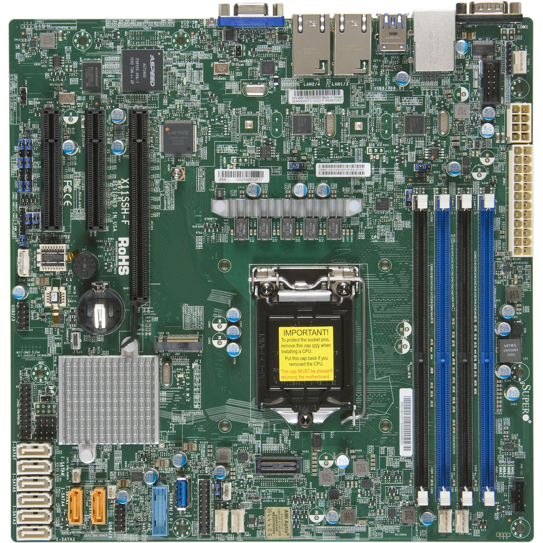Supermicro 5019S-M 4-Bay 3 5