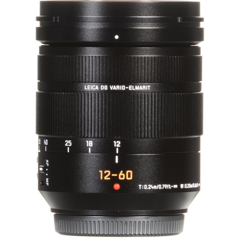 Panasonic Leica DG Vario-Elmarit 12-60mm f/2 8-4 ASPH  POWER O I S  Lens