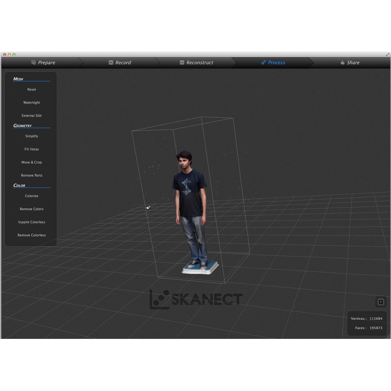 Occipital Structure Sensor 3D Scanner with 3D Scanning Software & USB  Hacker Cable Kit (Silver)
