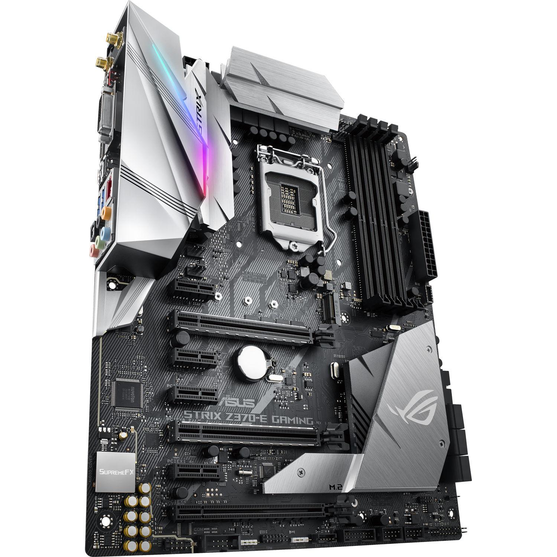 ASUS Republic of Gamers Strix Z370-E Gaming LGA1151 ATX Motherboard