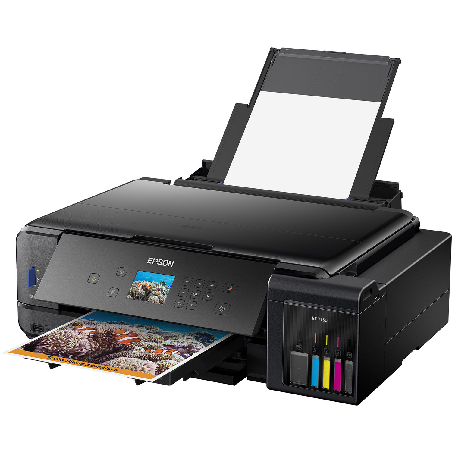 Epson Expression Premium ET-7750 EcoTank All-In-One Inkjet Printer