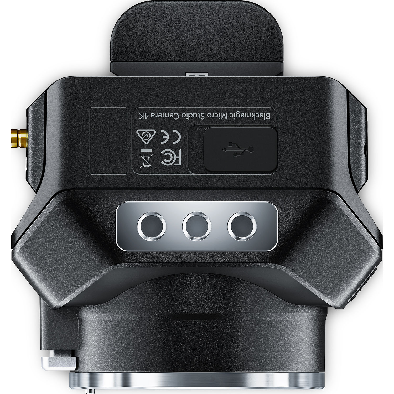 Blackmagic Design Micro Studio Camera 4k Cinstudmft Uhd Mr B H