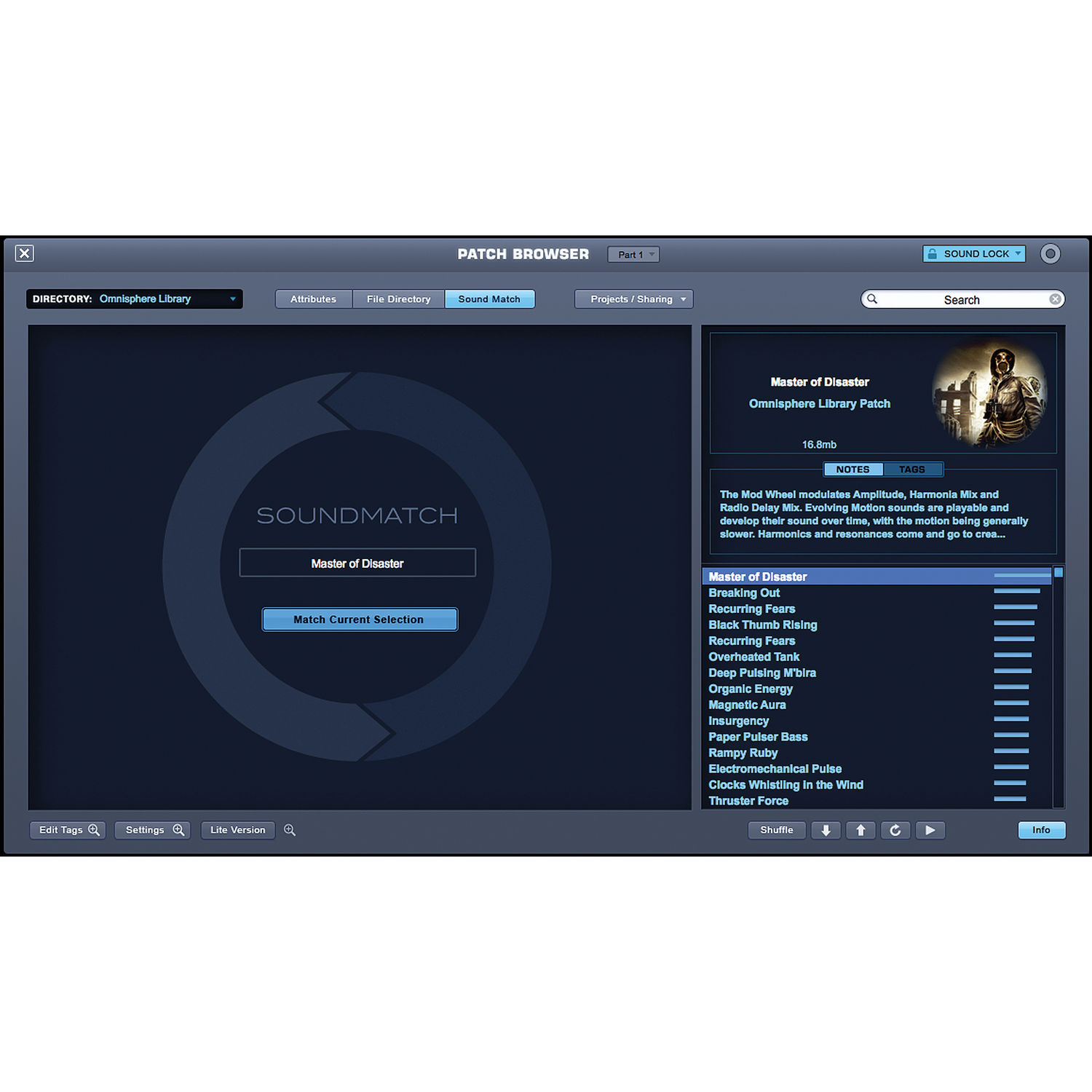Omnisphere soundsource browser refresh