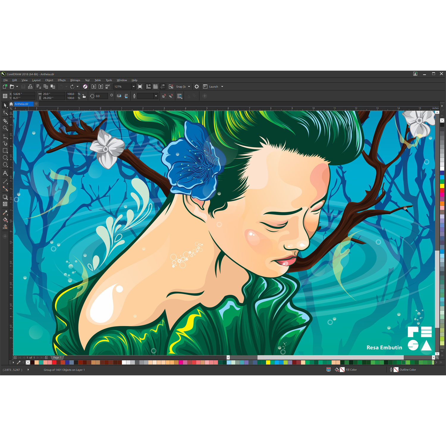CorelDRAW Graphics Suite 2018 (Standard Edition, Download)
